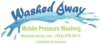 Washed Away Mobile Pressure Washing Logo